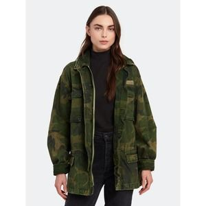 Free People Camo Seize the Day Utility Jacket NWT